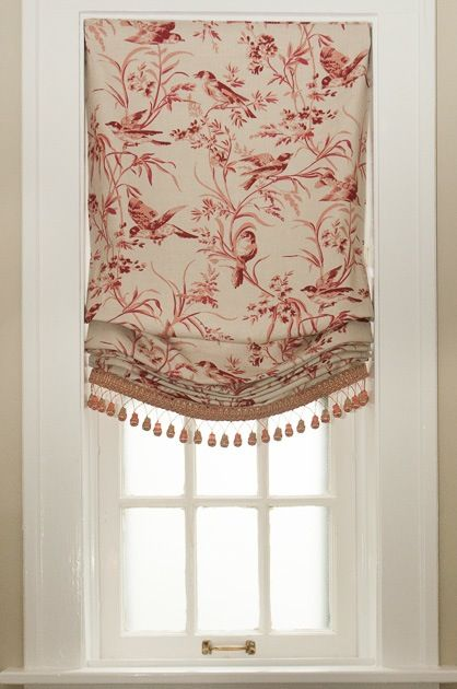 Tips for choosing Relaxed Roman Shades--check this out before you begin your next window treatment project--great information!