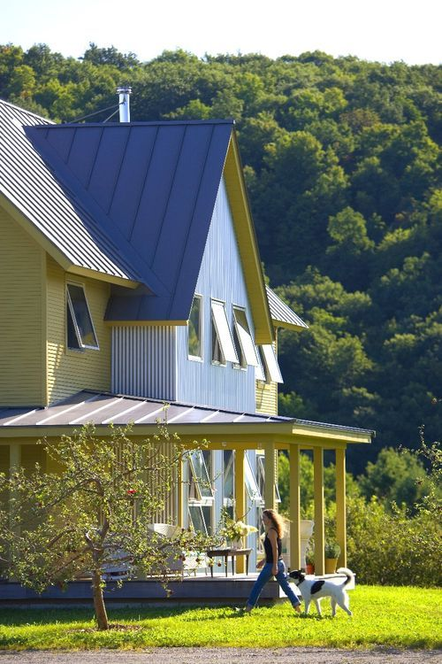 15 best our little house on the prairie images on pinterest for Modern metal roof