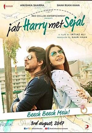 Movie : Jab Harry met Sejal Genre : Comedy, Drama, Romance Language : Director : Imtiaz Ali Writer : Imtiaz Ali Stars : Shah Rukh Khan, Björn Freiberg, Martavious Gayles Release : 4 August 2017