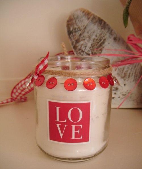 Valentinstag » Romantische Überraschung mit Kerzen zum