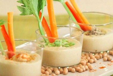 Salse e mousse vegane, per un aperitivo light e vegan!