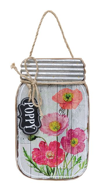 KP Creek Gifts - Poppy Mason Jar