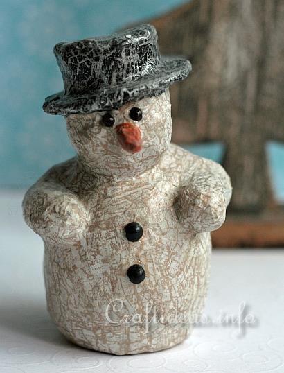 Decopatch Snowman - Christmas