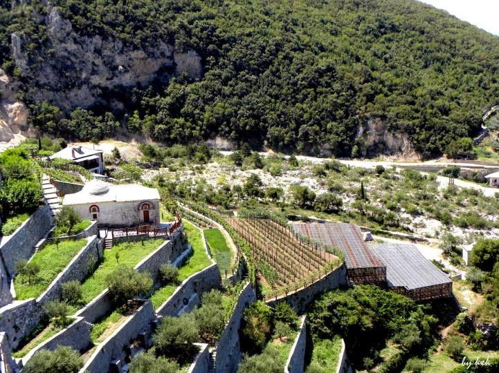 Ιερά Μονή Αγίου Παύλου. Καλλιέργειες - The Holy Monastery of St. Paul. Cultivation of crops