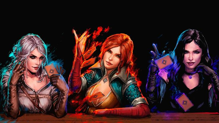Gwent: The Witcher Card Game Wallpaper by Frampos.deviantart.com on @DeviantArt