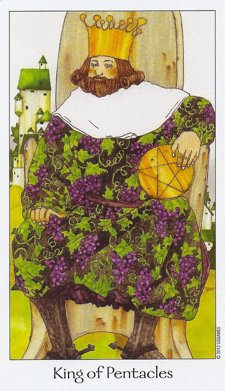 King of Pentacles - Dreaming Way Tarot
