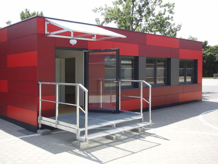 School container construction baucon baumh fer container for Container bureau prix