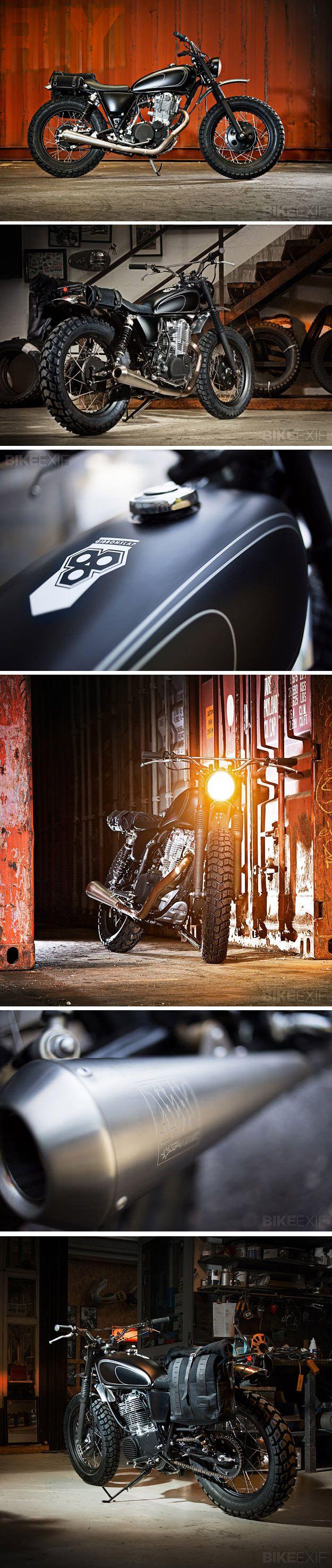 Yamaha SR400 - Wrenchmonkeys. Seen on http://www.bikeexif.com/yamaha-sr400-wrenchmonkees