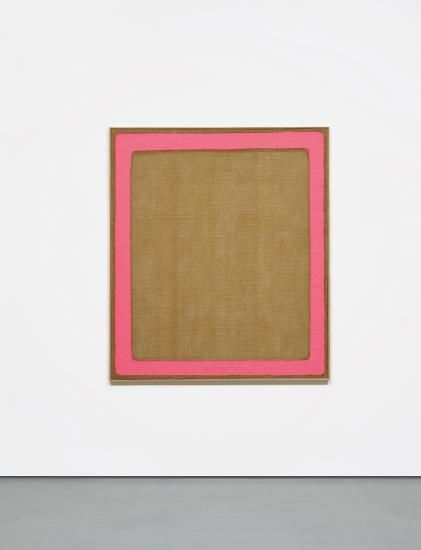 PHILLIPS : NY011015, Salvatore Emblema, Untitled/Fascia (1967-1974). Sold for 125 000 USD. #Arte #moderna #Modern #Art #Transparency #Painting #Italia #Italy