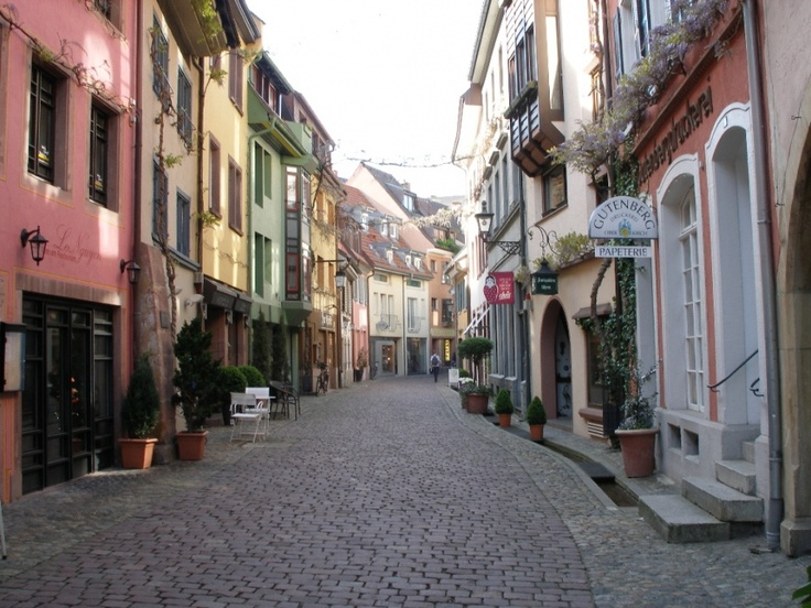 I fell in love with Freiburg, Germany in 1998 when I visited Jesko.