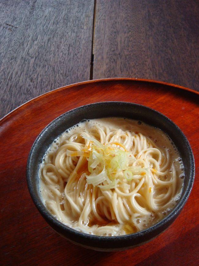 そうめん、豆乳、しょうゆ、水があれば出来ちゃう「あったか豆乳にゅうめん」がカンタンでオススメ! : 高円寺メタルめし・ヤスナリオのブログ