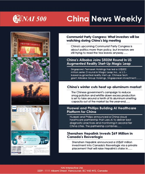 This is NAI500's new China News Weekly. We will be covering the latest Chinese foreign investment trends every week! #NAI500  www.nai500.com