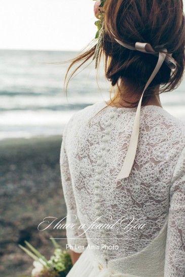 sposa vintage-chic, abiti sposa alternativi, abiti sposa particolari milano, abito  sposa con maniche,
