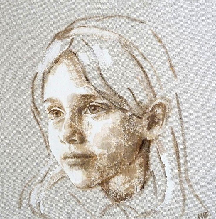 niña 40 x 40 M. Isabel Barros Alcalde
