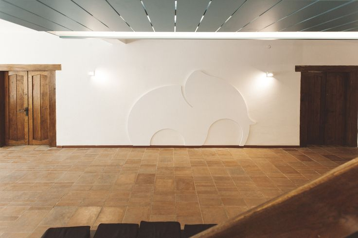 Project: Elephants museum   Client: Thinslices   Design: MIOLK   Furniture: Mobiera   Photographies: Sebastian Tiplea