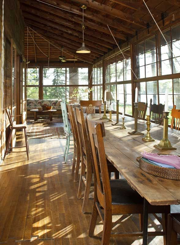 Lakeside Collection Patio Furniture: Old Cabins, Oak Chairs And Cabin