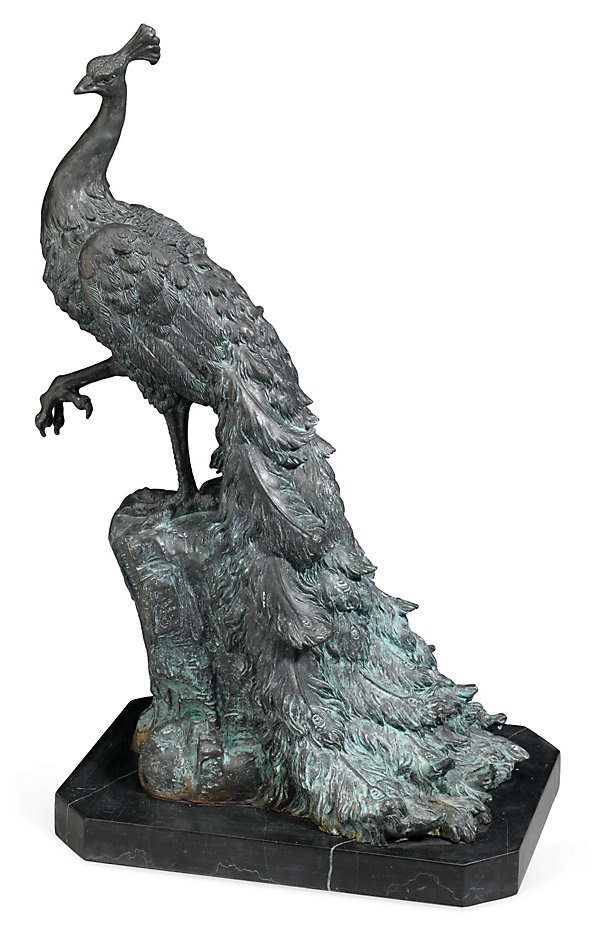 """One Kings Lane - A View of Versailles - 20"""" Bronze"""