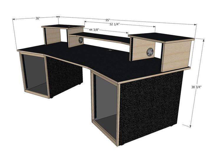 scs digistation recording studio desks salles de musique. Black Bedroom Furniture Sets. Home Design Ideas