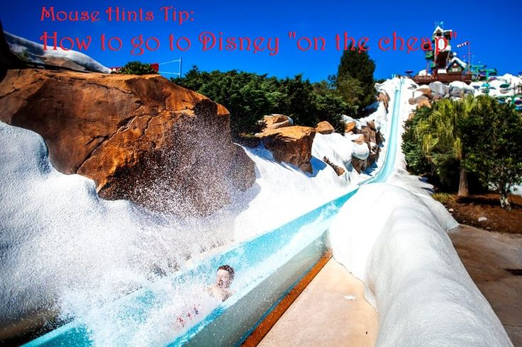 """Going to Disney """"On the Cheap""""!  http://mousehints.com/cheap-disney-world-tickets"""