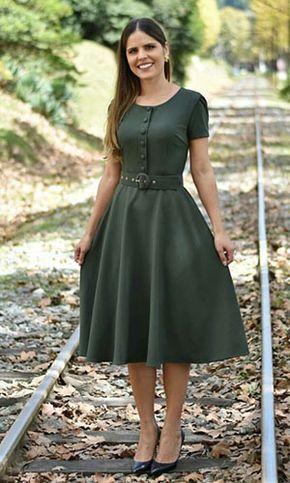 e39a668db281 Modelos de Vestidos: Descubra o modelo ideal para o seu corpo! | Moda  evangelica | Vestidos de grife, Vestidos vintage e Vestidos modestos