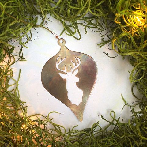stag head – Thistlehandmade