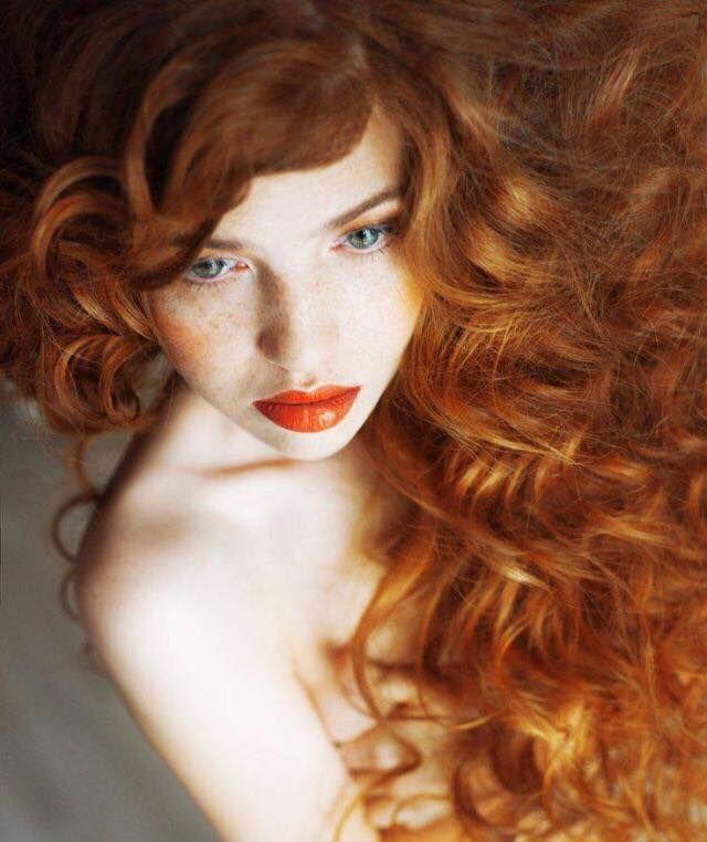 Erotic pictures of redhead women