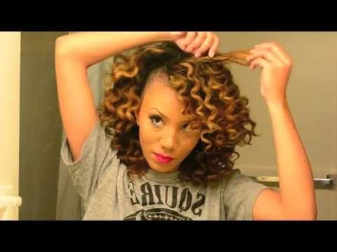 How to Get Perfect Bantu Knot Out Results on Dry Natural Hair - YouTube