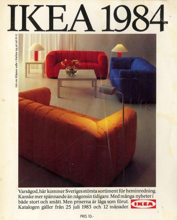 Inspiring Ikea Catalog Covers 1951 2014