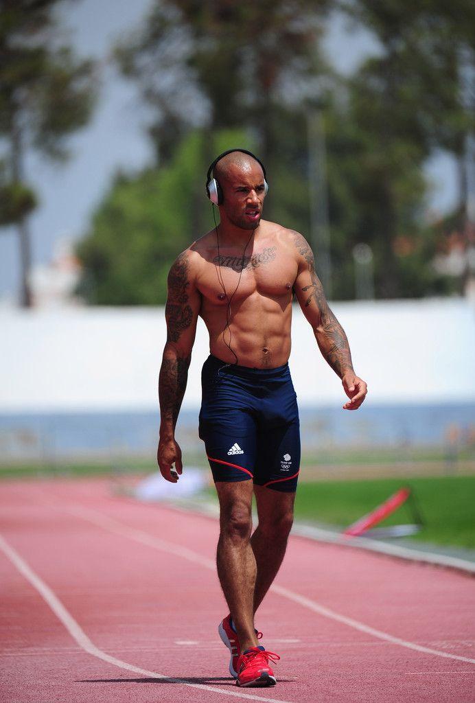 British Sprinter James Ellington