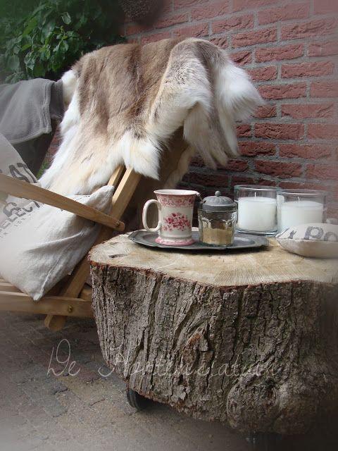 de hortensiatuin: Van lindeboom tot tuintafel
