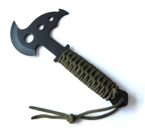 Outdoor axe #survival army #tactical tomahawk throwing #hatchet camping tool shea,  View more on the LINK: 	http://www.zeppy.io/product/gb/2/272134753618/