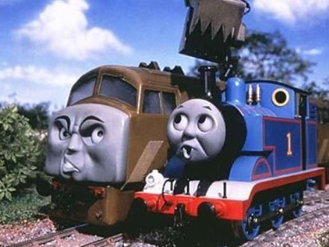 Guardian: Thomas the Tank Engine is Racist Because the Evil Trains Pump Out Black Smoke.  No. really--they said that.
