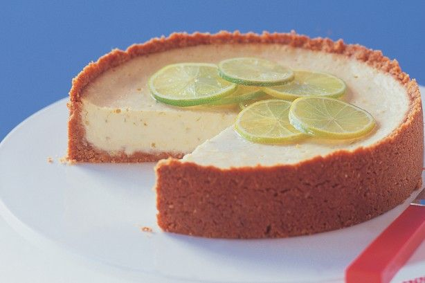 Traditional key lime pie is simply sensational.