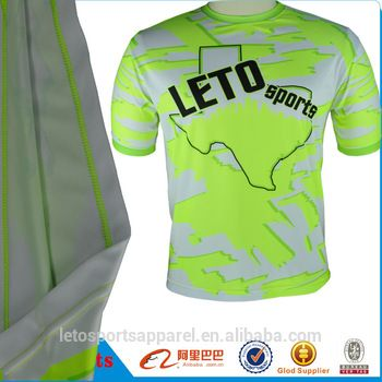 sports t shirt running clothes body shaper for Men Fitness Training T-Shirts For Gym And Compression Wholesale Gym Wear