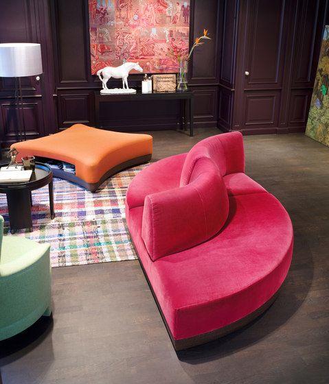 Phoenix Sofa By Neue Wiener Werkstätte