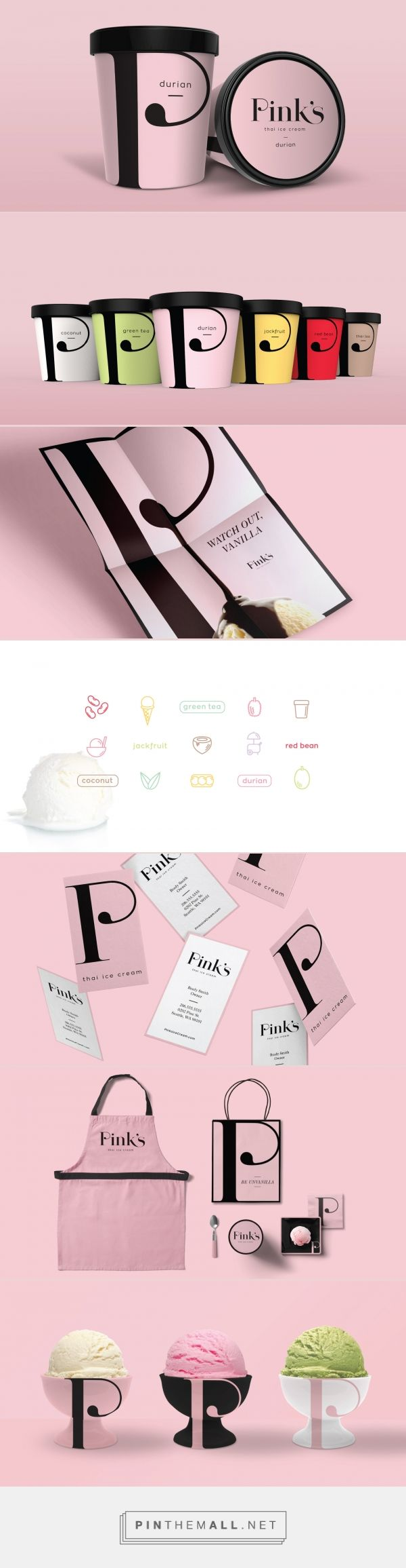 Pinks Thai Ice Branding and Packaging by CRP   Fivestar Branding – Design and Branding Agency & Inspiration Gallery