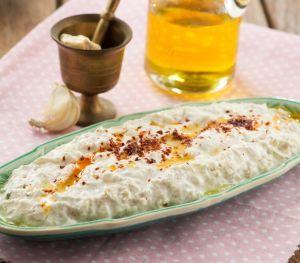 Labneli Patlıcan Ezme
