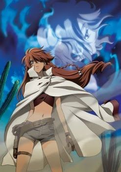"""If you have any last words, say them now."" - Nadie from El Cazador de la Bruja anime by Kōichi Mashimo. A bounty hunter on a special mission."