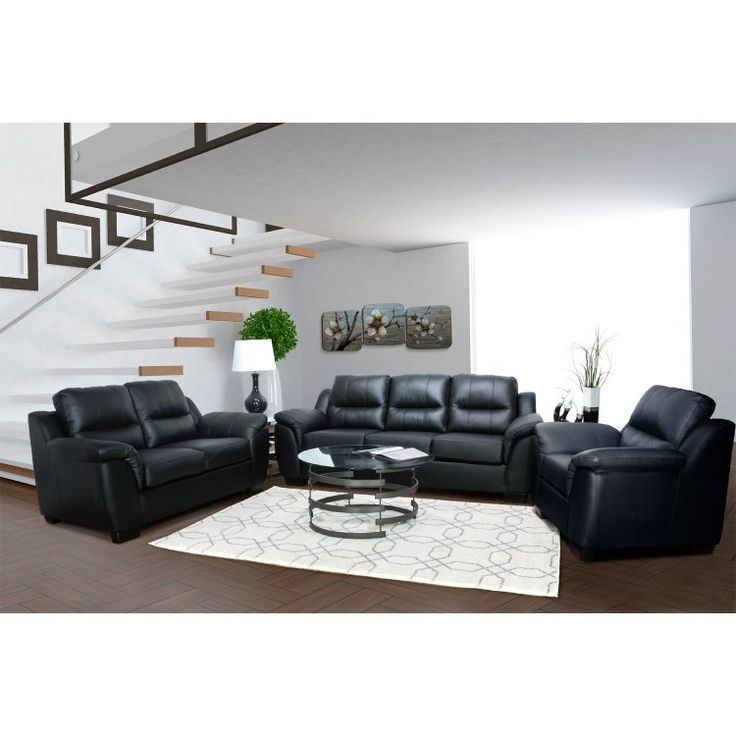 This Canadian Made Sofa Set Boasts A Simplistic Design With Contemporary Look And Living Room