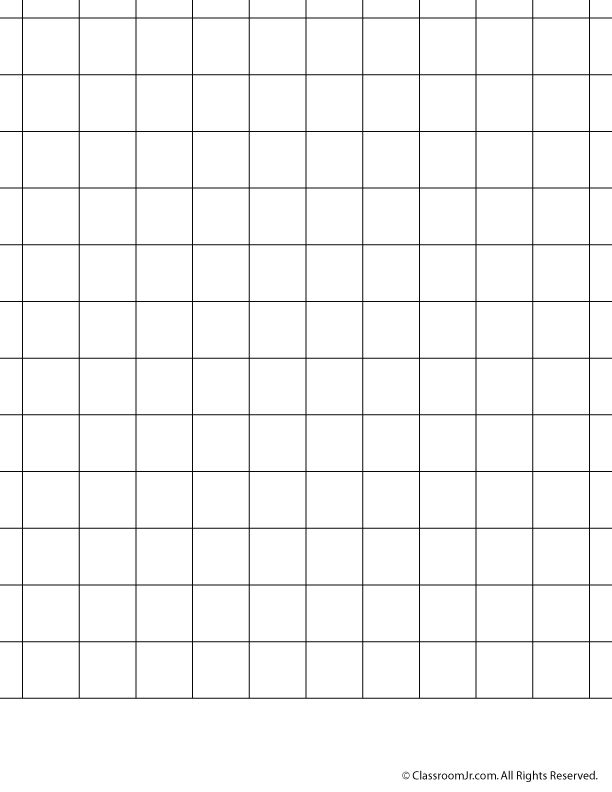 Math Grid Paper Template Printable Graph Paper And Grid Paper