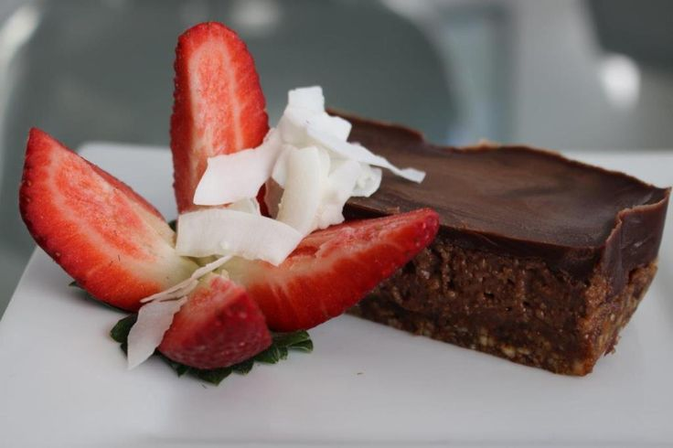 Raw Choc Slice | Kim Beach