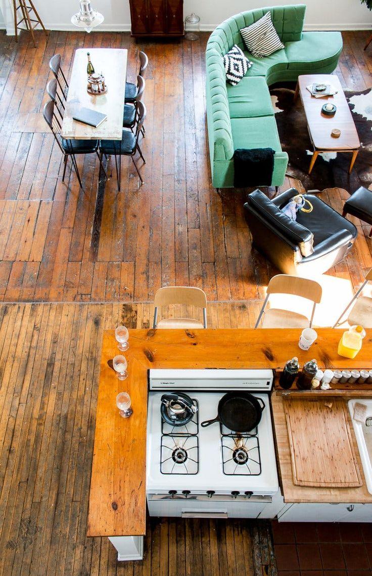 Benton, Kristin & Mason: Living and Working in a Chicago Loft