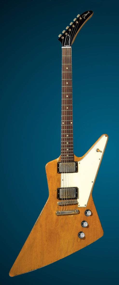 James Hetfield's '59 Gibson Explorer.