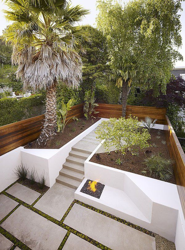 small garden in a dolores heights home in san francisco designed by john maniscalco architecture