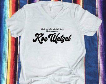 587c86c6 Koe Wetzel shirt - Koe - Wetzel - Texas country music - red dirt music -  Koe Wetzel concert tee