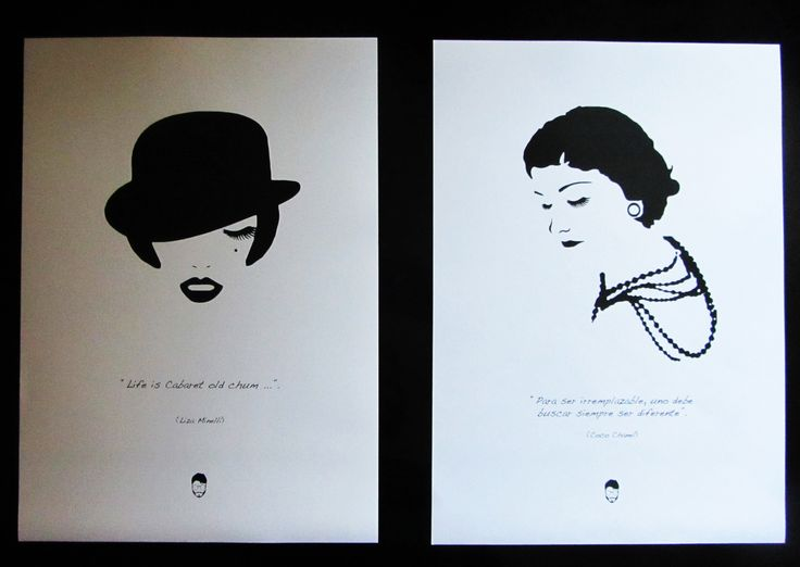 Liza Minelli y Coco Chanel