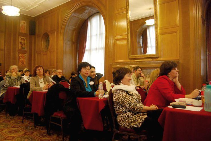 Soo Ling Lim Florin Ilea előadása alatt