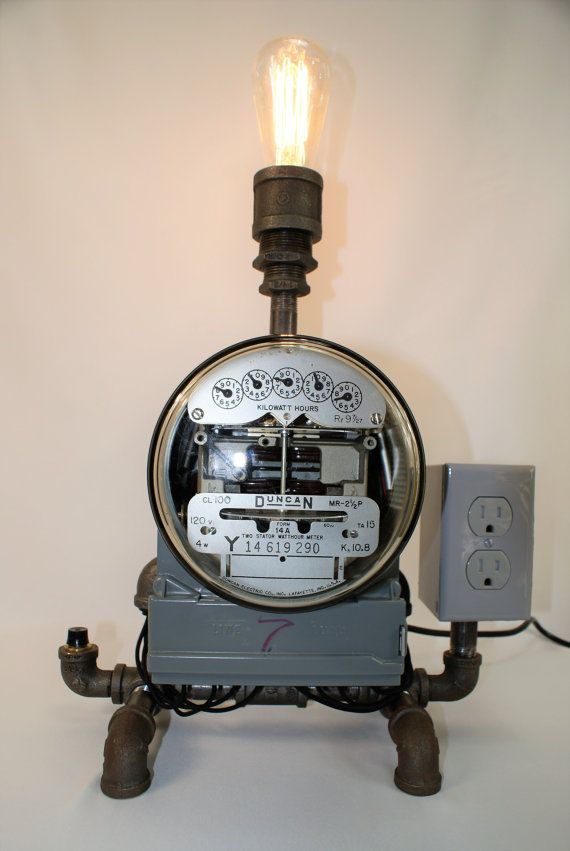 45 Best Electric Amp Gas Meter Lamps Images On Pinterest