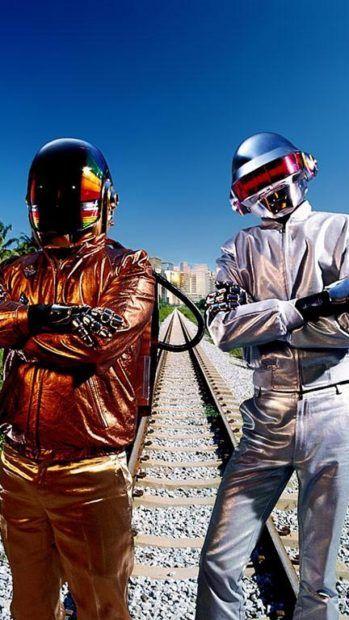 Free Daft Punk iPhone Backgrounds.