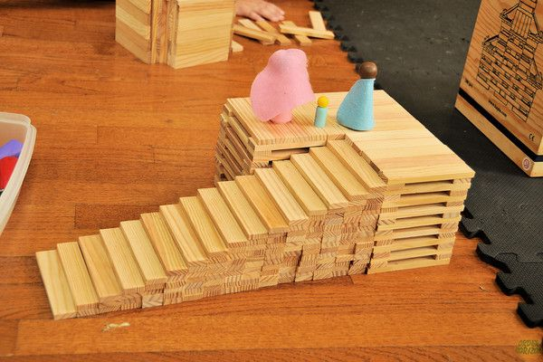 55 best kapla images on pinterest preschool block play for Plank blocks